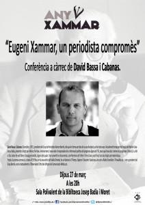 """""""Eugeni Xammar, un periodista compromès"""""""