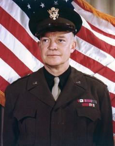 El general nord-americà Eisenhower